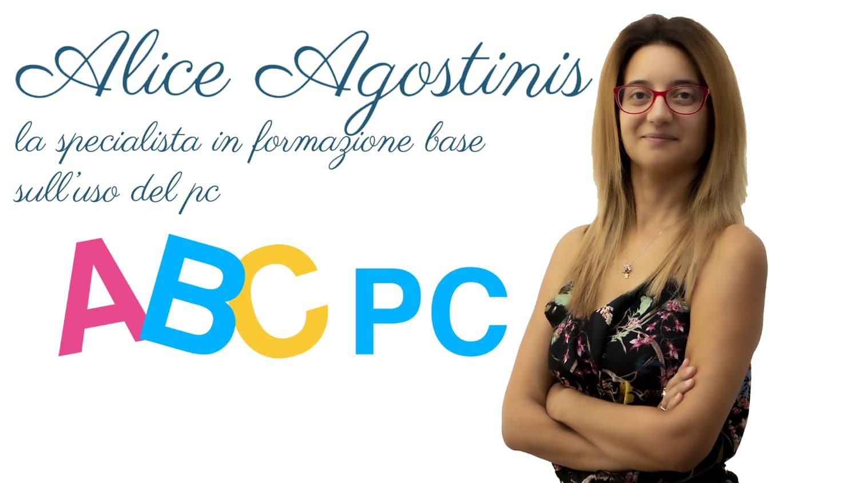 ABC di Alice Agostinis - Corsi base di informatica
